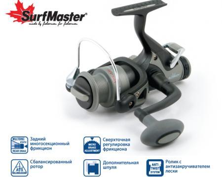 Безынерционные катушки SurfMaster